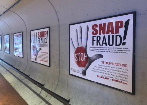 snap fraud signs dc