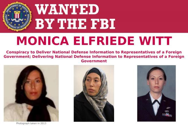 wanted by FBI
