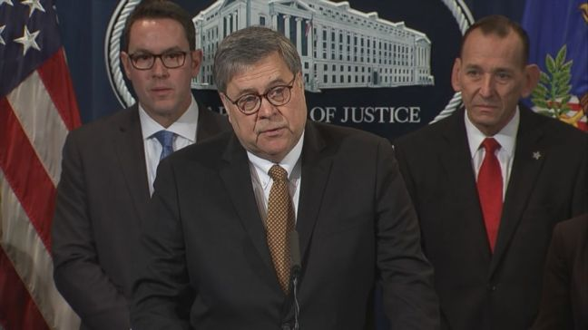 Barr announces elder fraud