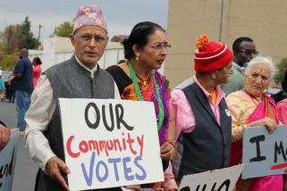 Bhutanese vote