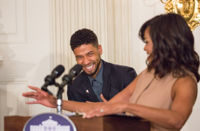 Jussie and Michelle