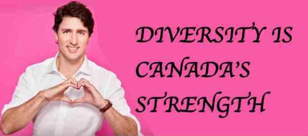 Trudeau diversity heart
