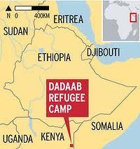 Dadaab map