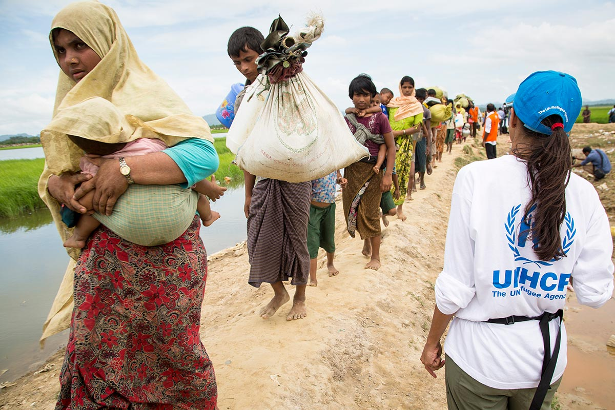 Bangladesh: Thousands of new arrivals assisted to transit centre, camps