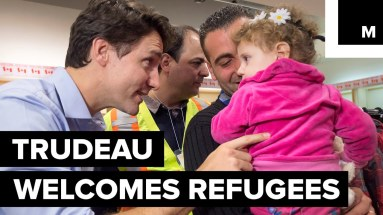 Trudeua welcomes refugees