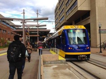 U of Minn Light Rail Station