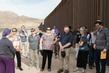Jewish leaders at the southern border